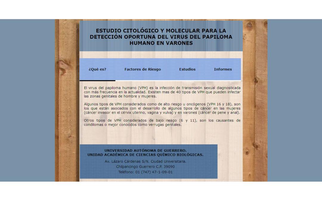 Detección Vph Universidad Autónoma de Guerrero