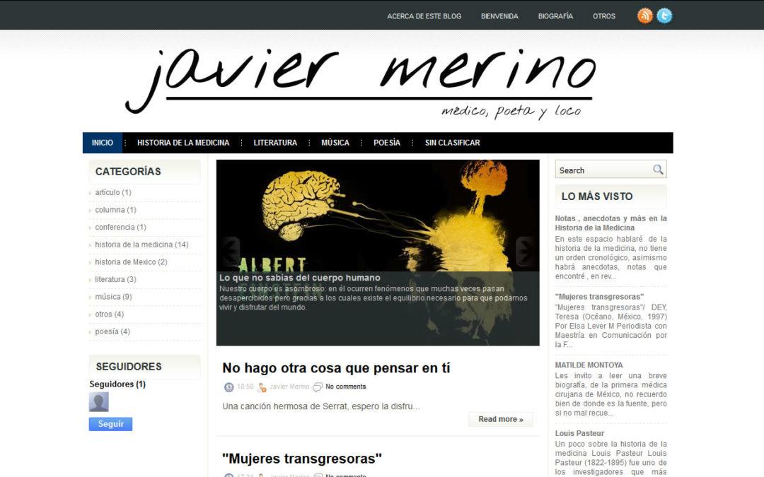 Dr Javier Merino Médico Poeta y Loco