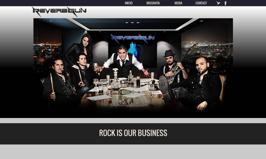Grupo de Rock Reverbgun