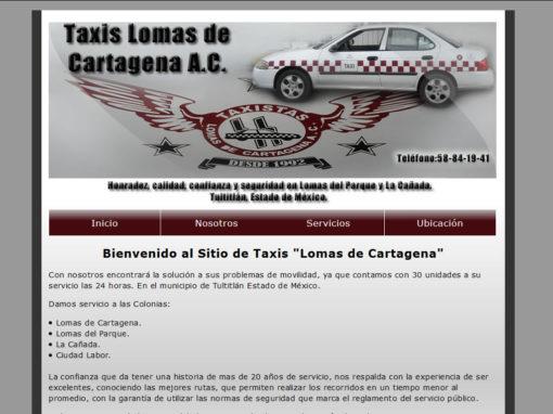 Taxi Lomas de Cartagena